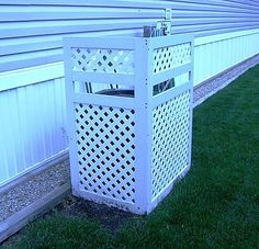 Decorative Ways To Hide An Outdoor Air Conditioner