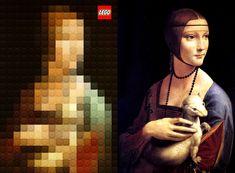 Juxtapoz Magazine - LEGO Versions of Classic Artworks