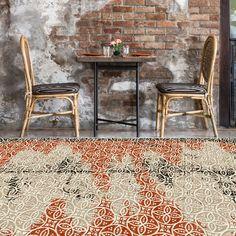Tembaga Copper Insitu #tsar #bespoke #carpets #rugs #interiordesign #interiors #custom #handmade #wool #luxury #luxuryhouse #contemporarydesign #carpet #custommade Patterns In Nature, Contemporary Design, Dining Chairs, Copper, Wool, Interior Design, Rugs, Luxury, Carpets