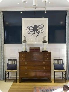 bedroom-dresser-chairs-octopus-pring-blue-navy-white-brown_Max-and-Company-Phoebe-Howard