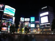 Shibuya-Japan - never get tired of this place..