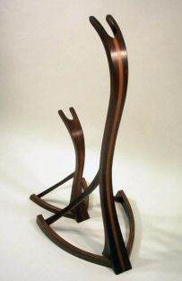 Guitar stands, first place winner in a contest