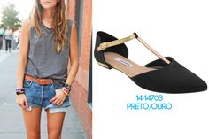 look relax - qual o melhor sapato para o visual regata e shortinho - shorts - jeans - Garotas do Brasil – Via Marte