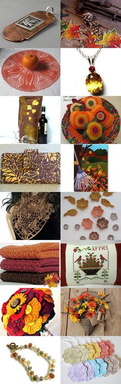 Autumn Moments Gone So Soon by  Celebration Times team by Virginia Soskin on Etsy--Pinned with TreasuryPin.com
