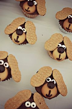 cute pup-cakes!