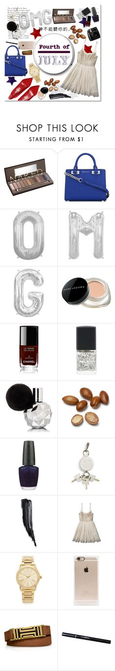 """""""6 months🔴⚪️🔵🇺🇸"""" by lolashx ❤ liked on Polyvore featuring Urban Decay, MICHAEL Michael Kors, Manolo Blahnik, Marc Jacobs, Chanel, Fujifilm, Lane Bryant, OPI, Alexander Wang and Tom Ford"""