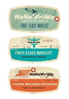 Etiquettes voyage vintage