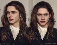 Louis from Interview with the Vampire Cosplayer: Michaelbgb Cosplay Makeup Help: Alyson Tabbitha Male Vampire, Vampire Art, Mens Vampire Makeup, Amazing Cosplay, Best Cosplay, Halloween Cosplay, Cosplay Costumes, Lestat And Louis, Werewolf Makeup