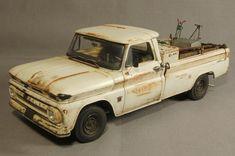 Great Detail on this 1966 Chevy Fleetside Plastic Model Truck Kit!    https://www.hobbylinc.com/revell-monogram-1966-chevy-fleetside-plastic-model-truck-kit-1:25-scale-857225