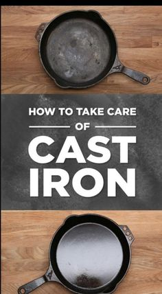 Everything You Need To Know About Cooking With Cast-Iron Pans. One of the best instructional videos about the how and why of cast iron skillet care/use I've seen. Cast Iron Skillet Cooking, Iron Skillet Recipes, Cast Iron Recipes, Skillet Meals, Cooking With Cast Iron, Season Cast Iron Skillet, Skillet Food, Skillet Pan, Cast Iron Dutch Oven