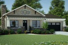 Bungalow Plan: 1,378 Square Feet, 3 Bedrooms, 2 Bathrooms - 7806-00013