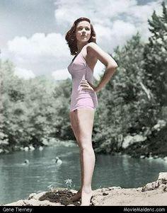 Gene Tierney - the body