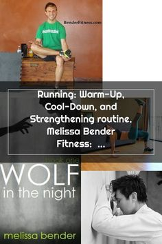 Running: Warm-Up, Cool-Down, and Strengthening routine. Melissa Bender Fitness: over 375 free home workouts, recipes, and tips for healthy living. Melissa Bender, At Home Workouts, Routine, Healthy Living, Warm, Baseball Cards, Running, Cool Stuff, Fitness