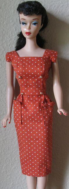 #5 Ponytail Barbie 1961