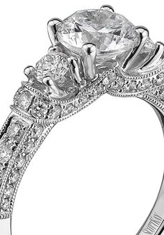 dc19f4fd1 16 Best Scott Kay images   Halo rings, Scott kay, Wedding Jewelry