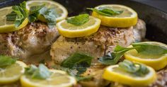 Bright And Creamy One-Skillet Lemon Garlic Chicken