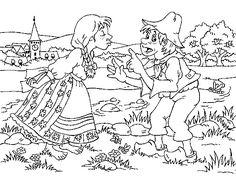 Kdyby byl Bavorov Clip Art, Music, Illustration, Coloring, Women, Carnavals, Musica, Musik, Muziek
