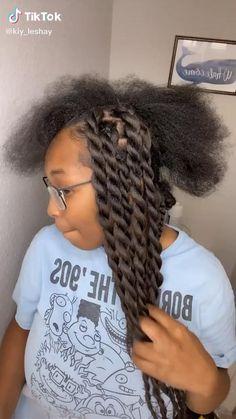 Black Girl Braided Hairstyles, Twist Braid Hairstyles, African Braids Hairstyles, Faux Locs Hairstyles, Hairstyles With Braiding Hair, 4 Braids Hairstyle, Hair Twist Styles, Hair Ponytail Styles, Short Hair Styles