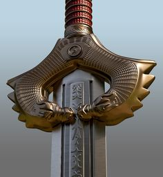 Wonder Woman HD Sword for 3D-printing