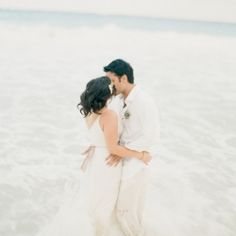 gorgeous beach wedding from Tulum, Mexico! (Photo by Alea Lovely)