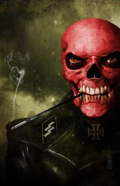 Captain America: Red Skull by Caveira Vermelha