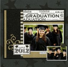 Graduate Layout #1 by Reminisce