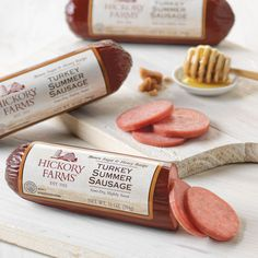 Turkey Summer Sausage 10 oz. - 3 Pack ships FREE to APO/FPO addresses and makes a great #military gift #turkeysausage