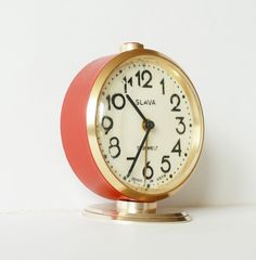 Russian mechanical alarm clock