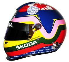 Jacques Villeneuve - 2012 Trophée Andros Cool Motorcycle Helmets, Racing Helmets, Cool Motorcycles, F1 Racing, Formula 1, Indy 500 Winner, Vw Group, Helmet Paint, Helmet Design