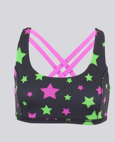 shine like the star you are, or reverse to pink. | Vitality Sports Bra