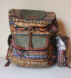 The SAK Roots Artist Circle Harvest One World Backpack - Brand NEW #SAKRootsArtistCircle #Backpack