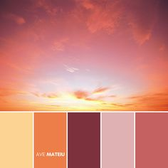 Classic Sunset Color Palette #330 – Ave Mateiu - Fall Autumn 2020, color palette, color palettes, colour palettes, color scheme, color inspiration, color combination, art tutorial, collage, digital art, canvas painting, wall art, home painting, photography, weddings by color, inspiration, vintage, wallpaper, background, rustic, seasonal, season, natural, nature