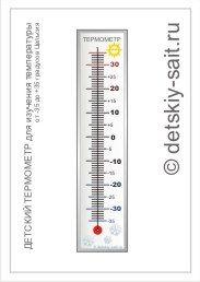Скачать детский термометр