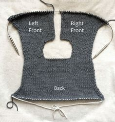 Knit jacket free pattern from PURL Knit Cardigan Pattern, Sweater Knitting Patterns, Jacket Pattern, Knitting Stitches, Knitting Designs, Knit Patterns, Free Knitting, Purl Soho, Knit Jacket