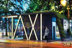 多機能性を備えたTaxi Station (タクシー乗り場) ~より良い街づくりを考える