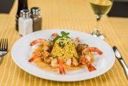 King Prawns (porţie mare) Prawn, Thai Red Curry, Meat, Chicken, Breakfast, Ethnic Recipes, King, Food, Restaurant