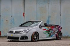 Schmidt Picks Tuned VW Golf VI Convertible To Show Off New Rims