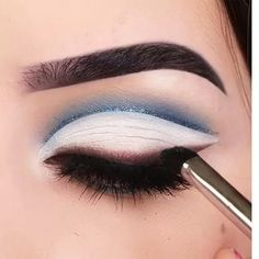Want fuller lashes in half the time click the link to get yours top glam makeup tutorial best makeup tutorials 2019 spring and summer 2019 latest eye makeup 2019 nyx professional makeup prismatic eyeshadow Glamorous Makeup, Glam Makeup, Makeup Inspo, Makeup Inspiration, Magical Makeup, White Eye Makeup, Best Makeup Tutorials, Makeup Tips For Beginners, Best Makeup Products