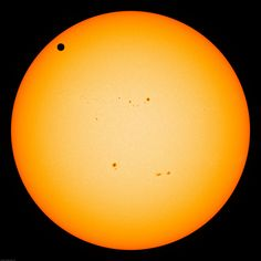 Transit of Venus via NASA's Astronomy Picture of the Day