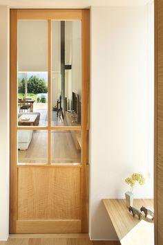 Kitchen Bar Design, Door Detail, Muji, Japanese Design, House 2, Wooden Doors, Door Design, Entrance, Home Goods