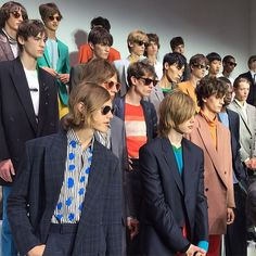 Backstage at the Paul Smith Men's Spring/Summer '16 Show - taken by @thepolitanblog