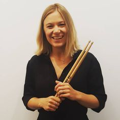 Sarah Vezmar, Receptionist. Into drumming in her band called The Daisy Chain 50's, crafting, eating and drinking gin and tonics in the sun.