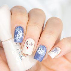 Crazy Nail Art, Crazy Nails, Cute Nail Art, Cute Nails, Xmas Nails, Holiday Nails, Christmas Nails, Winter Nail Art, Winter Nails
