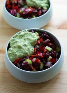 mexikansk salat