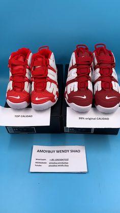 Cómo comprobar diferentes entre 99% de calidad original Nike AIR MORE  UPTEMPO y Top e9064ca89