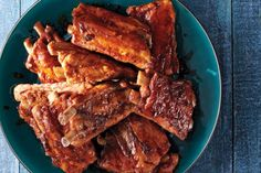Slow Cooker Whisky-Glazed Ribs