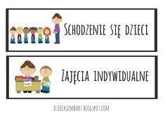 Dzieckiem bądź: Ilustrowany plan dnia DO POBRANIA
