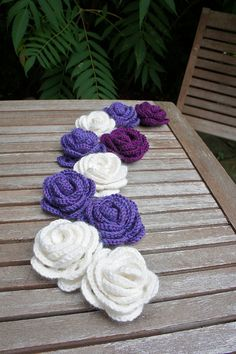 Crochet Roses by Ms Premise-Conclusion, via Flickr