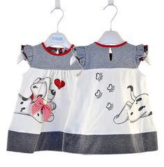 cute dog style  Baby Girl Fashion Dress