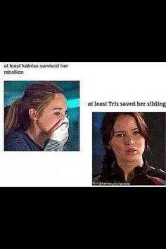 Katniss vs Tris
